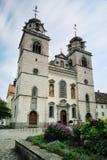 Klosterkirche Rheinau στοκ εικόνες με δικαίωμα ελεύθερης χρήσης