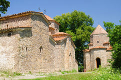 Klosterkomplex Dzveli Shuamta in Georgia, Kaukasus Lizenzfreie Stockbilder
