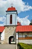 Klosterkontrollturm Ciolanu Stockfotografie