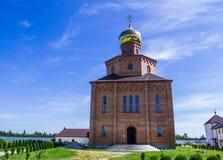 Klosterkyrka Fotografering för Bildbyråer