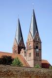 Klosterkyrka av Neuruppin i Tyskland Fotografering för Bildbyråer