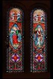 klostermontserrat fönster arkivfoto