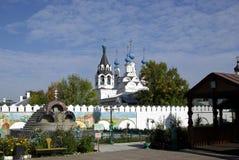 klostermurom Arkivbilder