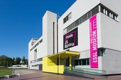 KLOSTERNEUBURG AUSTRIA, MAJ, - 08, 2014: Fotografia Essl Musem, Obrazy Stock