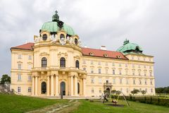Klosterneuburg Monastery in Austria stock photography