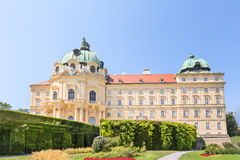 Klosterneuburg Monastery is a twelfth-century Augustinian monastery of the Roman Catholic Church located in the town. Of Klosterneuburg in Lower Austria royalty free stock image
