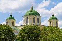 klosternovgorod seversky ukraine Arkivbild