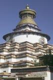 klosterpalkhor tibet Arkivfoton