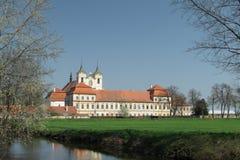 klosterrajhrad Royaltyfria Foton