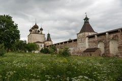 Klosterterritoriet Royaltyfria Foton