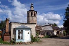klostertorn Arkivfoto