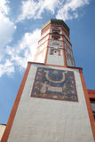 klostertorn Royaltyfri Bild