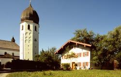 klostertorn Royaltyfri Fotografi