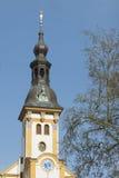 Klostertorn Neuzelle Arkivfoto