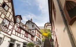 Klostertrappa i Beilstein på Mosellen Royaltyfri Bild