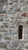 Klosterwand Stockbild