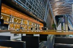 Kloten-Flughafen oder internationaler Flughafen Zürichs Stockbilder