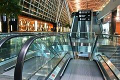 Kloten-Flughafen oder internationaler Flughafen Zürichs Lizenzfreies Stockbild