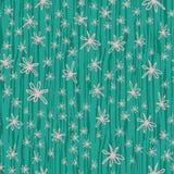 Klotterblommor på randig bakgrund för vertikal borsteslaglängdgräsplan Inspirerat, genom att blomma kaktushud seamless modell stock illustrationer