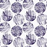 Klottrade blåttcirklar Royaltyfria Foton