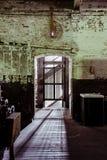 Klotz Kasta Företag/Lonaconing silke maler - Lonaconing, Maryland Arkivbild