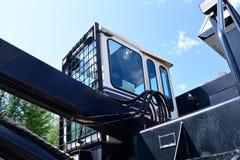 Klotz-Lader-Fahrerhaus oben betrachten Lizenzfreie Stockfotos