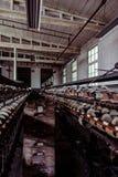 Klotz Throwing Company/Lonaconing-Seidenspinnerei - Lonaconing, Maryland stockfotos