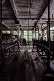 Klotz Throwing Company/Lonaconing-Seidenspinnerei - Lonaconing, Maryland Lizenzfreies Stockbild