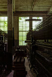 Klotz Throwing Company/Lonaconing-Seidenspinnerei - Lonaconing, Maryland lizenzfreie stockfotografie