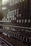 Klotz Throwing Company/Lonaconing-Seidenspinnerei - Lonaconing, Maryland Stockbilder
