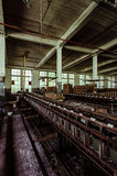 Klotz Throwing Company/Lonaconing-Seidenspinnerei - Lonaconing, Maryland stockbild