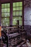 Klotz Throwing Company/Lonaconing-Seidenspinnerei - Lonaconing, Maryland lizenzfreie stockfotos