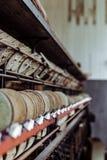 Klotz Throwing Company/Lonaconing-Seidenspinnerei - Lonaconing, Maryland stockfoto