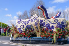 Klotz von der Blume parade Stockfotos