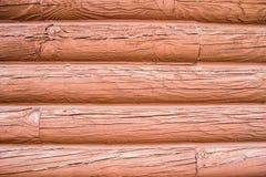 Klotz-Wand-Hintergrund Stockbilder