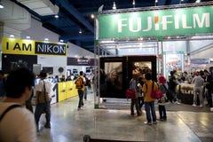 KLPF2011 - Área de exposição Fotografia de Stock Royalty Free