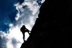 klättring Arkivbilder