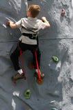 klättring som lärer till Arkivfoton