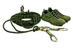 klättringutrustning Royaltyfria Bilder