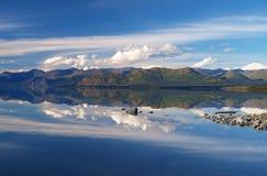 Kluane湖 库存图片