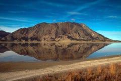 Kluane jezioro, Yukon terytorium Obrazy Stock