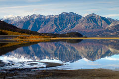 Kluane Lake, Yukon Territories Royalty Free Stock Images
