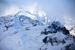 Kluane National Park and Reserve, Mountains and Glaciers Royalty Free Stock Photo