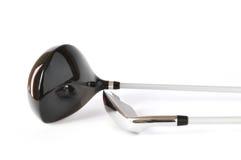 klubów kierowcy golfa jeden target394_1_ klinu drewno Obrazy Stock