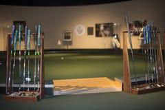 2 klubów w golfa Zdjęcia Stock