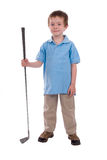 klub golfa gospodarstwa, chłopcze Obraz Royalty Free
