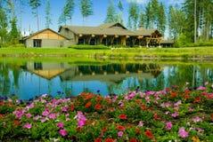 klub kraju kursu golfa Obraz Royalty Free