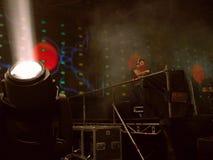 Klub nocny DJs w Ukraina Zdjęcie Royalty Free