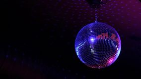 Klub nocny lustrzana piłka zbiory wideo