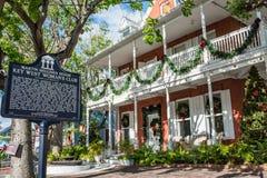 Klubba för kvinna` s i Key West Arkivbild